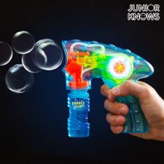 Pistol pentru Baloane de Săpun cu Lumină Junior Knows - Pistol de jucarie