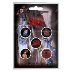 Insigna Death - Albums Buttonpack