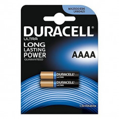 Baterii Alcaline DURACELL Ultra Power DRB25002 MX2500 AAAA 1.5V (2 pcs)