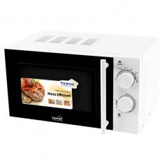 Cuptor cu microunde, 700W, 20 L, functie decongelare, timer, Home