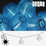 Ghirlandă Solară cu Lampioane Albe Th3 Party (10 LED-uri)