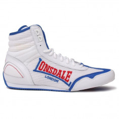 Adidasi box / pantofi sport Lonsdale, nr.42 import UK, piele naturala - Adidasi barbati Lonsdale, Culoare: Din imagine