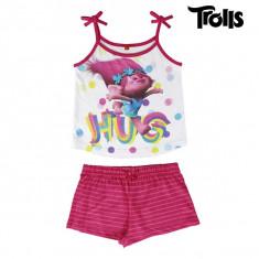 Pijama de Vară pentru Fete Trolls