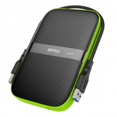 "Hard disk Extern Silicon Power A60 2.5"" USB 3.0 1 TB Anti-shock Waterproof Negru"