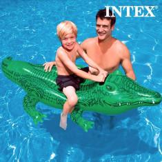 Crocodil Gonflabil Intex - Plutitor Inot