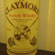 RARE whisky CLAYMORE scotch whisky cl 75 gr 43% vol ani 50/60