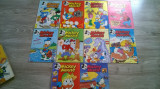 REVISTA MICKEY MOUSE ANUL 1995 COMPLET 12 NR. ED.EGMONT ROMANIA