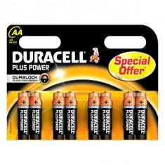 Baterii Alcaline DURACELL Plus Power DURLR6P8B LR6 AA 1.5V (8 pcs)