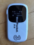 Router Modem 3G ZTE Web Pocket 21,6 Mbs Wi Fi hot spot mobile-decodat