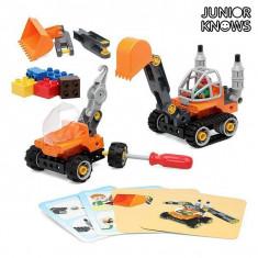 Set de Construcție Junior Knows 1266 (38 pcs) - Saboti frana Moto