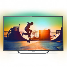 "Smart TV Philips 65PUS6262/12 65"" Ultra HD 4K LED Ultra Slim Wifi Negru - Televizor LED Philips, 165 cm"