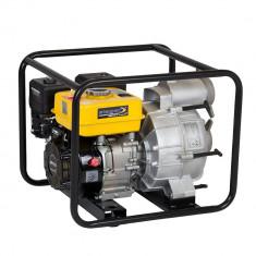 "Motopompa Stager GTP80, 3"", benzina, apa murdara, 5200 W, 26 m - Pompa gradina Stager, Motopompe"