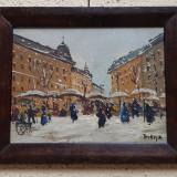 Tablou de colectie Antal Berkes, Peisaje, Ulei, Impresionism