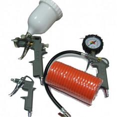 Kit 4 accesorii compresor - Compresor electric Stager
