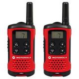 Walkie-Talkie Motorola TLKR T40 4 km LCD 16 h AAA Negru Roșu