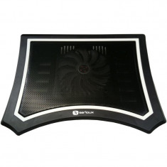 "LAPTOP COOLING PAD NCP300B, USB, 10-17"", Serioux"
