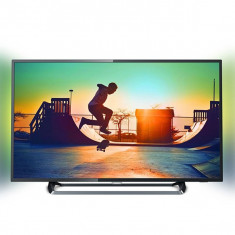 "Smart TV Philips 55PUS6262/11 55"" Ultra HD 4K LED Ultra Slim Wifi Negru - Televizor LED Philips, 139 cm"