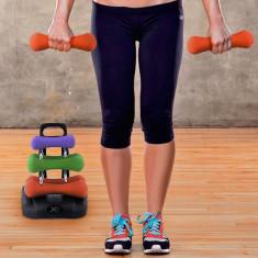 Set de Gantere cu Suport pentru Fitness - Aparat pentru abdomen