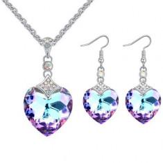 Set bijuterii Purple Reinbow - Set Swarovski