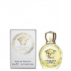 Versace Eros Pour Femme EDT mini 5 ml pentru femei - Set parfum