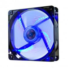 Ventilator de Unitate NOX NXCFAN120LBL Cool Fan 12 cm LED Albastru - Cooler PC
