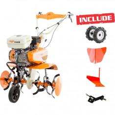 Motosapa Ruris 7099 + roti cauc + rarita + plug + adaptor - Motocultor