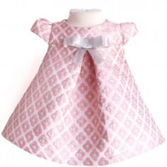 Rochita scurta botez Pink Bell - Rochie banchet