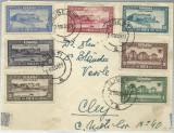 AMS -  PLIC PARTIAL FRANCAT CU SERIA UNIREA BASARABIEI CIRCULAT ILISESTI-CJ 1938