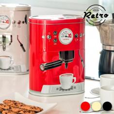Cutie de Metal Retro Coffee Machine - Caserola