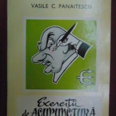 Exercitii de acupunctura - Banca de exercitii