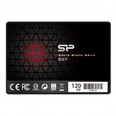 "Hard Disk Silicon Power S57 2.5"" SSD 120 GB 7 mm Sata III"