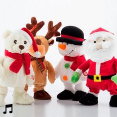 Figurina de Crăciun care Dansează și Cântă - Miniatura Figurina