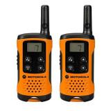 Walkie-Talkie Motorola TLKR T41 4 km LCD 16 h AAA Negru Portocaliu
