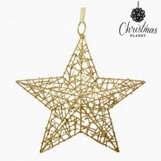 Stea de Crăciun Fier Aur by Christmas Planet - Ornamente Craciun
