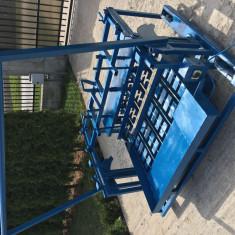 Matrita vibratoare pentru boltari din beton.