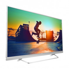 "Smart TV Philips 49PUS6482/12 49"" Ultra HD 4K LED USB x 2 HDR Wifi Argintiu - Televizor LED Philips, 125 cm"