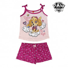 Pijama de Vară pentru Fete Skye (Patrula Canină)