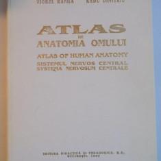 ATLAS DE ANATOMIA OMULUI SISTEMUL NERVOS CENTRAL 1993-VIOREL RANGA, RADU DIMITRIU