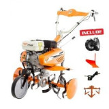 Motosapa Ruris 7088 ACC + roti cauciuc + plug + adaptor + cultivator