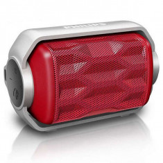 Difuzor Bluetooth Portabil Philips BT2200R/00 2, 8W Roșu - Boxe PC
