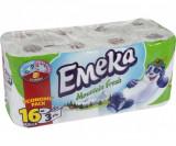 EMEKA hartie igienica 16 role 3 straturi MOUNTAIN FRESH
