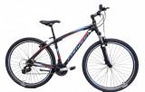 "Bicicleta MTB Umit Camaro Cadru 16"" , 21 Viteze , Culoare Negru/Albastru , RoataPB Cod:29620160001"