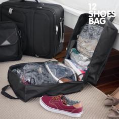 Geantă de Voiaj pentru Încălțăminte 12 Shoes Bag - Rucsac