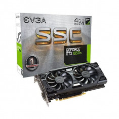 PLACĂ GRAFICĂ GAMING EVGA 04G-P4-6255-KR GTX 1050 TI SSC 4 GB|DDR5 - Placa video PC