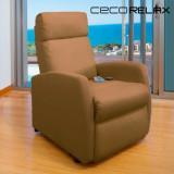 Fotoliu Relax cu Funcție de Masaj Cecorelax Compact Camel 6019