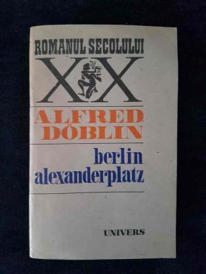 Berlin Alexanderplatz – Alfred Doblin foto