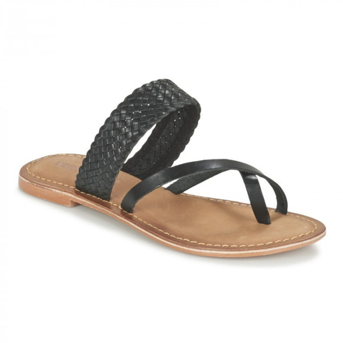 Sandale Piele Vero Moda Alva Negru
