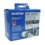 Hârtie Continuă pentru Imprimante Brother DK22210 29 x 30,48 mm Alb