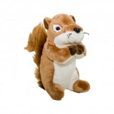 Pluș veveriță, 15 cm - Jucarii plus
