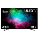 """Smart TV Hisense N6800 75"""" 4K UHD ULED HDR+ Wifi USB x 2 HDMI x 4 Negru Argintiu"""